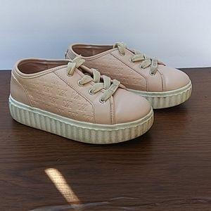 Michael Kors Pink Platform Sneakers Size 11